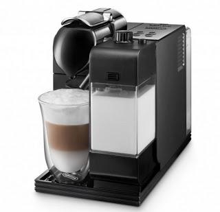 delonghi nespresso lattissima jetzt in schwarz erh ltlich kapsel. Black Bedroom Furniture Sets. Home Design Ideas