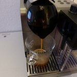 Der Kaffeeauslauf bei der Nespresso Lattissima Plus
