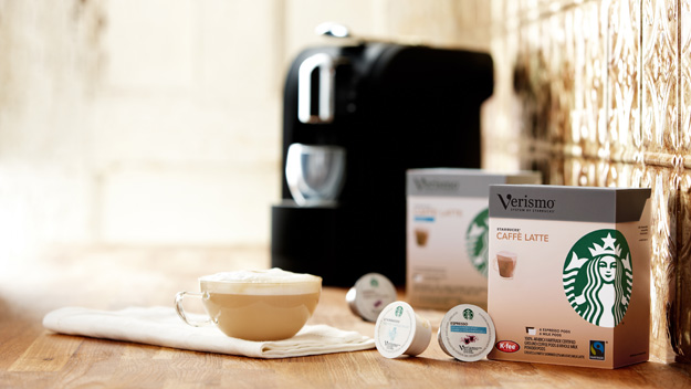 Starbucks kapseln in nespresso maschine