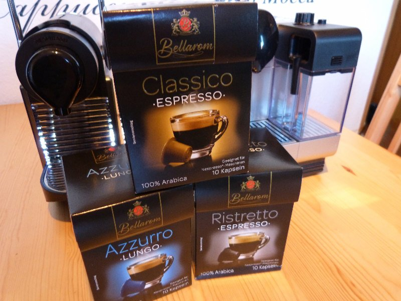 Bellarom Lidl Kaffeekapseln Test Nespresso Alternative 002