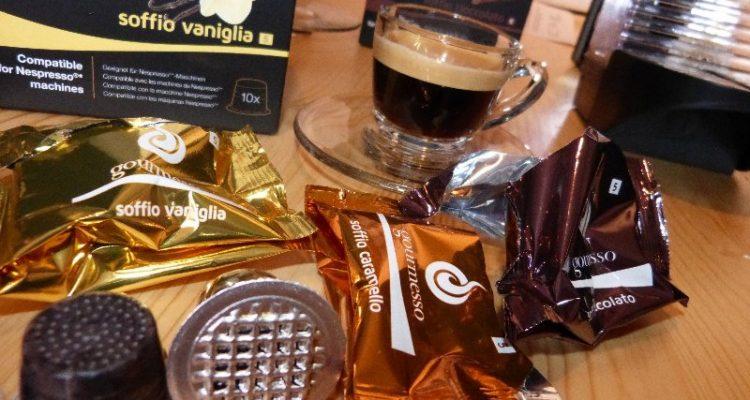 gourmesso flavours im test vaniglia cioccolato caramello kapsel. Black Bedroom Furniture Sets. Home Design Ideas