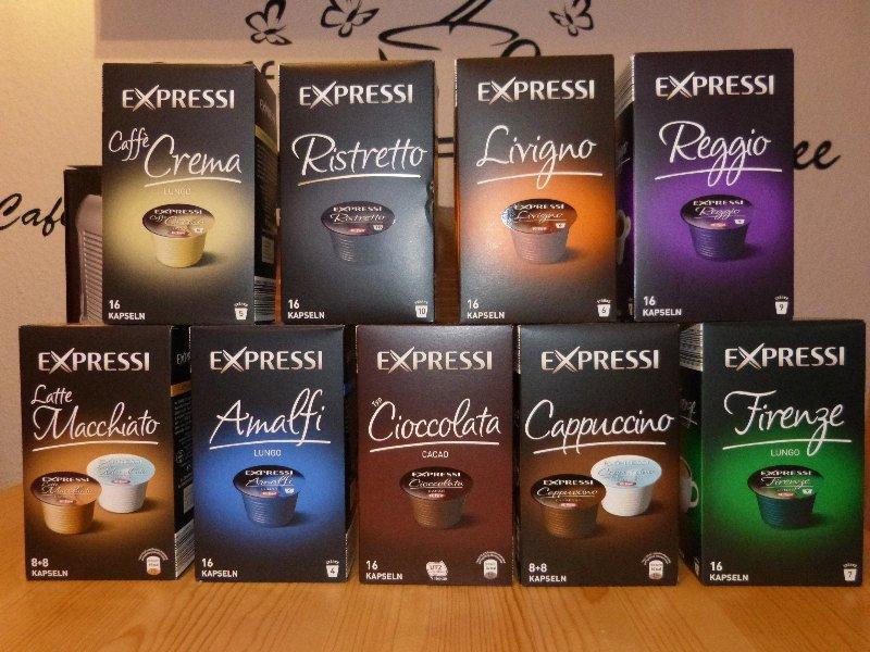 Kaffeekapseln sorten