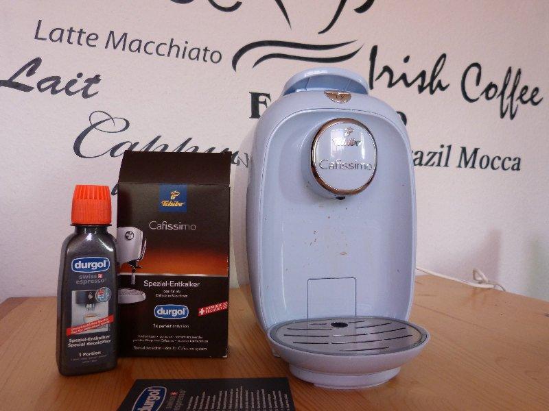 tchibo kaffeemaschine entkalken