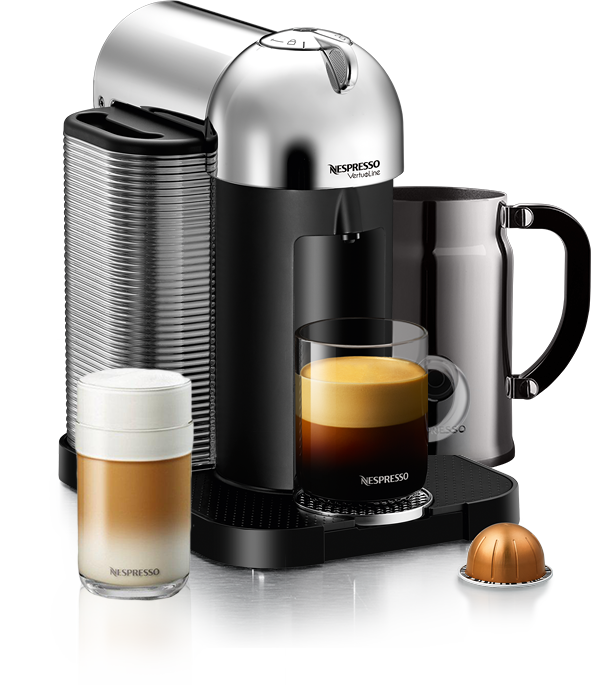 neues nespresso system mit xxl kapseln vertuoline. Black Bedroom Furniture Sets. Home Design Ideas