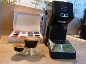 Lavazza Espria und Espresso