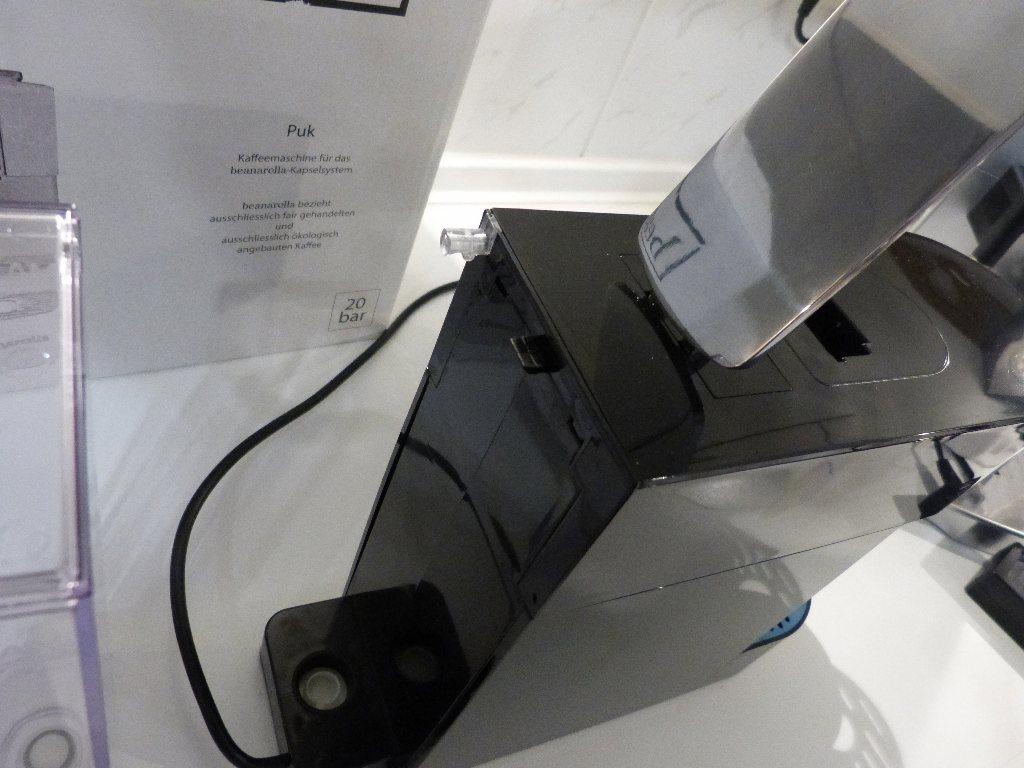 test beanarella puk kapselmaschine kapsel. Black Bedroom Furniture Sets. Home Design Ideas