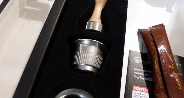 mycoffeestar barista set edelstahl kapsel nespresso im test 1 022 kapsel. Black Bedroom Furniture Sets. Home Design Ideas