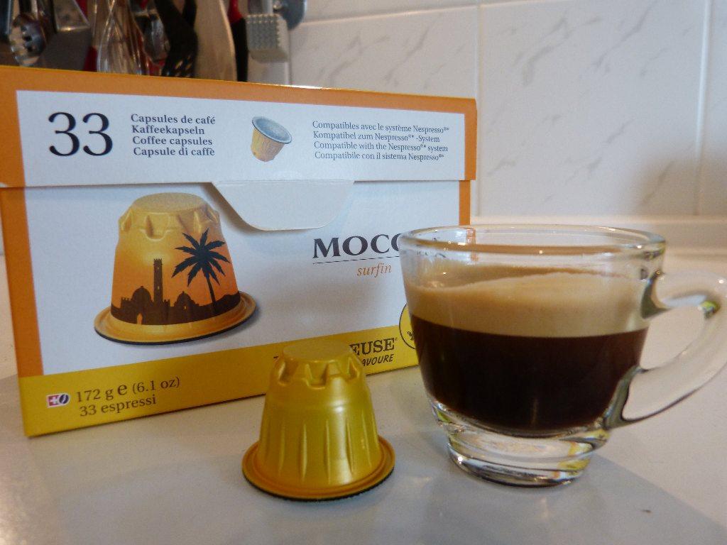 Espresso, Kapsel und Verpackung