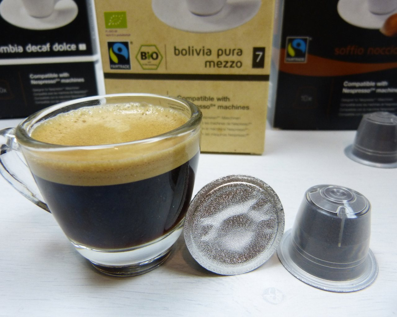 gourmesso kaffeekapseln im test kompatibel mit nespresso022 kapsel. Black Bedroom Furniture Sets. Home Design Ideas