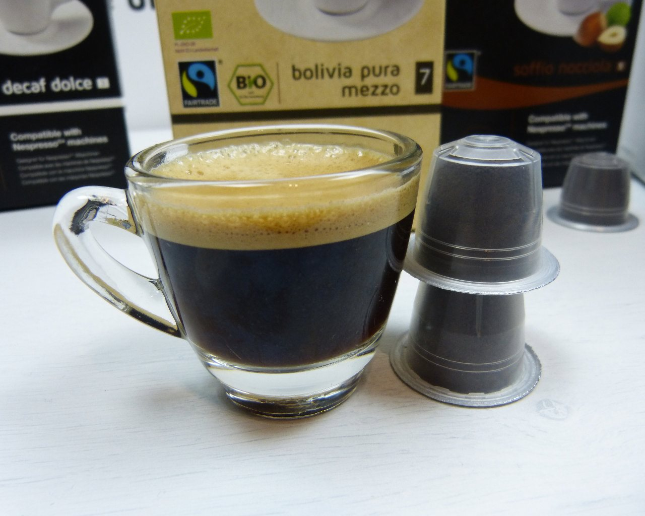 gourmesso kaffeekapseln im test kompatibel mit nespresso023 kapsel. Black Bedroom Furniture Sets. Home Design Ideas