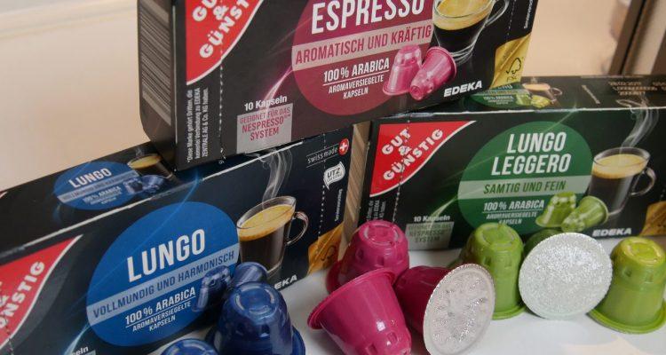 Gut Gunstig Kaffeekapseln Fur Nespresso System Im Test Kapsel