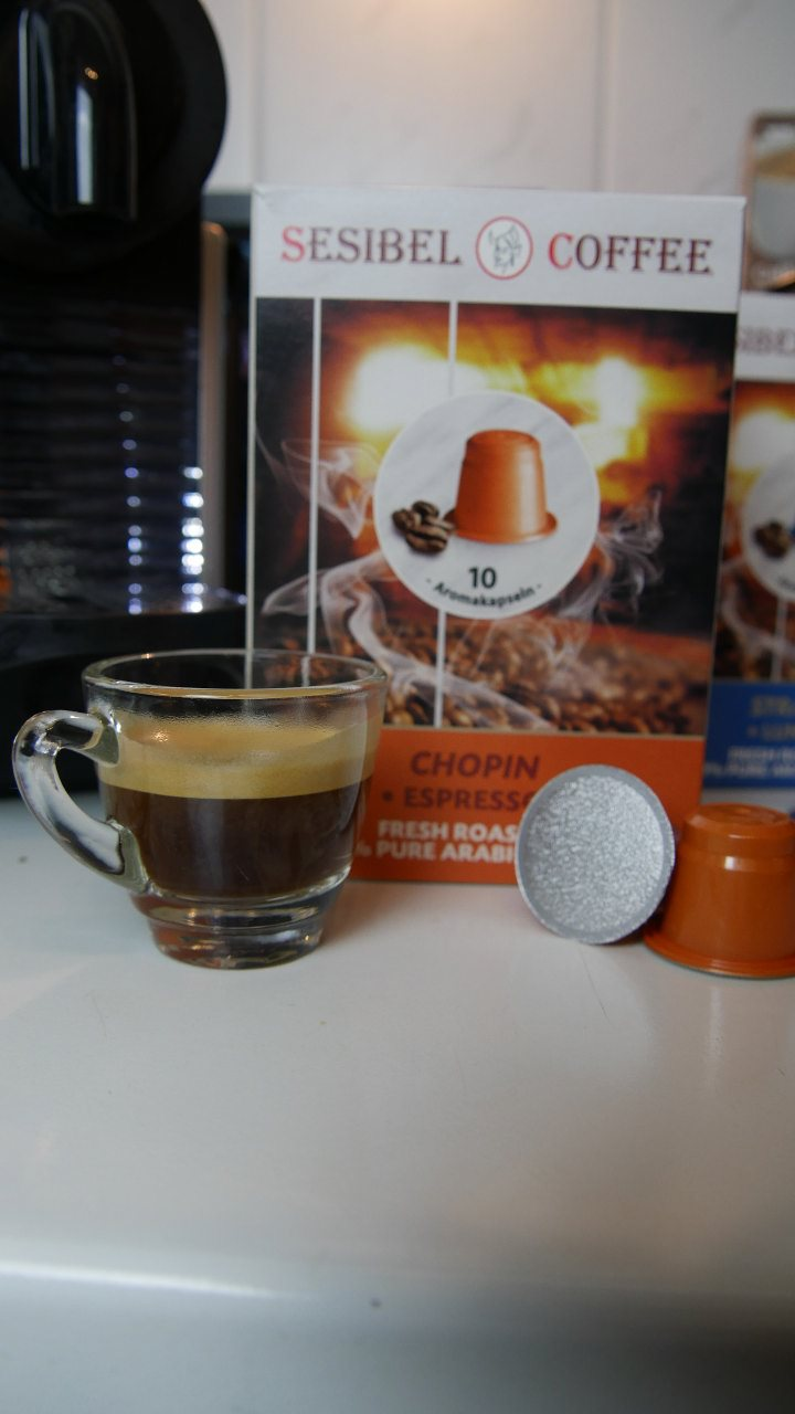 sesibel coffee kapseln test nespresso 008 kapsel. Black Bedroom Furniture Sets. Home Design Ideas