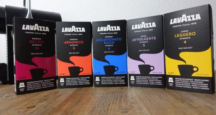 lavazza kaffeekapseln f r nespresso maschinen im test. Black Bedroom Furniture Sets. Home Design Ideas