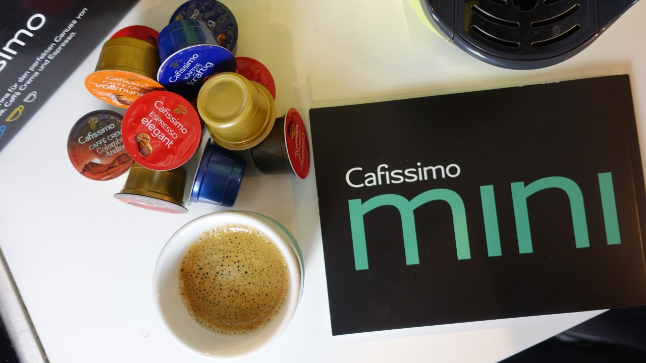 tchibo cafissimo mini testbericht test review 007 kapsel. Black Bedroom Furniture Sets. Home Design Ideas