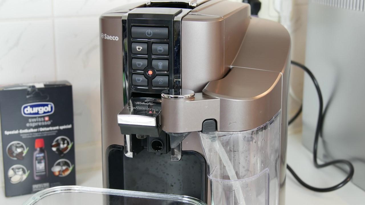 anleitung entkalkung cafissimo latte saeco schritt f r schritt 009 kapsel. Black Bedroom Furniture Sets. Home Design Ideas